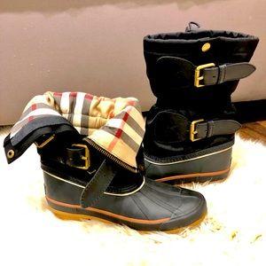 Burberry LONDON Snow/Rain Boots